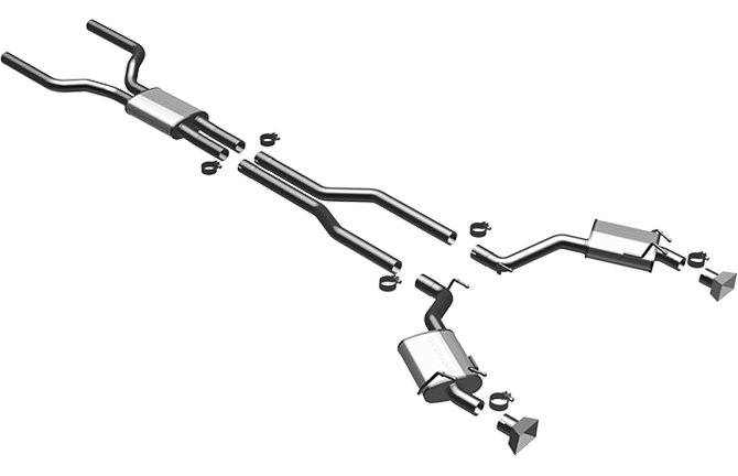 2011 dodge ram exhaust systems