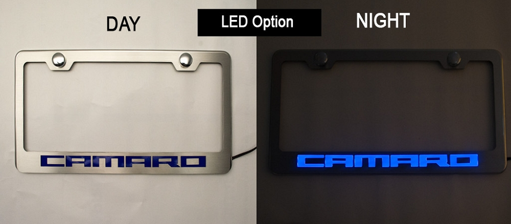 Cheap Jeep Wrangler >> Gen 5 Camaro 2010-2015 Illuminated Stainless Rear License ...
