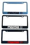 Mazda Brand Script License Plate Frame - Color/Finish Selections