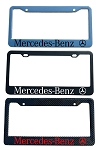 Mercedes-Benz Brand Script License Plate Frame - Color/Finish Selections