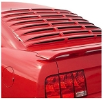 2005+ Ford Mustang ABS Rear Window Louver - Year & Finish Options