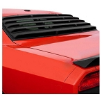 2008+ Dodge Challenger 1pc Rear Window Louver - Finish Option