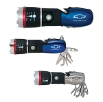 Chevrolet Bowtie Flashlight Multi-tool - Color Options