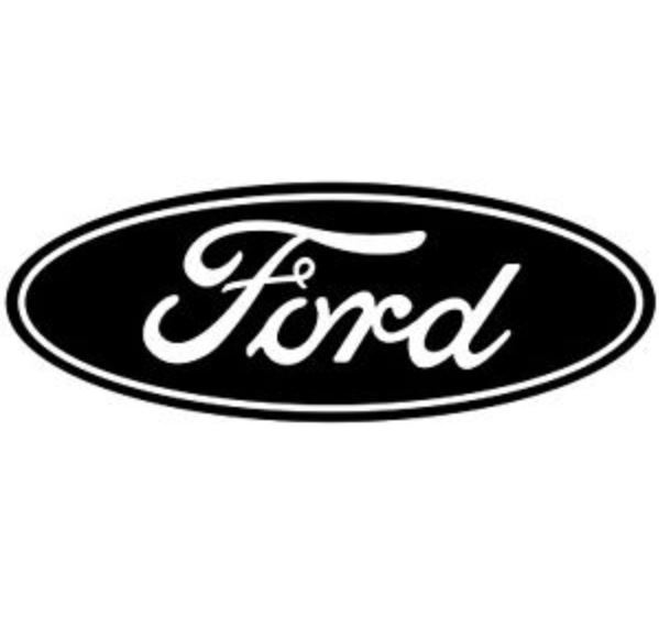 ford logo wall decal vinyl color size options