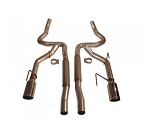 2005-2009 Ford Mustang GT / GT500 Dual Cat-Back Exhaust Kit