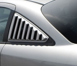 Gen 5 Camaro 2010-2015 ABS Side Window Closed Louvers - Large 5pc Set