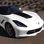C7 Corvette Stingray/Grand Sport 2014-2019 Stinger Style Stripe