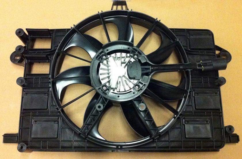 C7 Corvette Stingray 2014-2019 Radiator Cooling Fan w/ Motor And Shroud