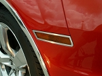 Gen 5 Camaro 2010-2013 Brushed Side Marker Trim - 4pc
