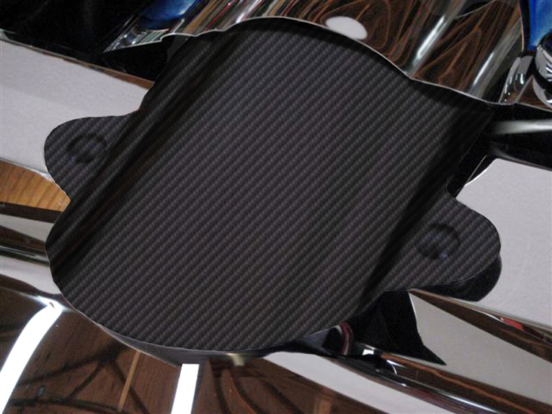 C6 Corvette 2005-2007 Hydro Carbon Fiber Air Tube Cover