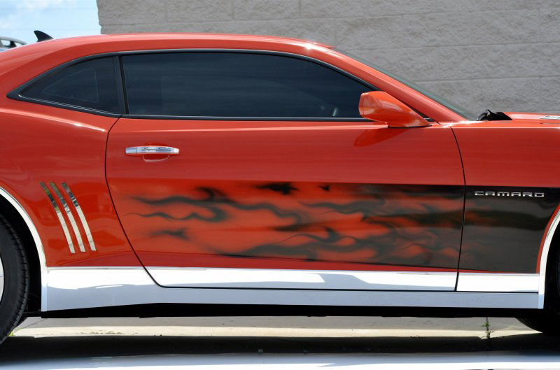 Gen 5 Camaro 2010-2013 Polished Rocker Panel Deluxe Kit