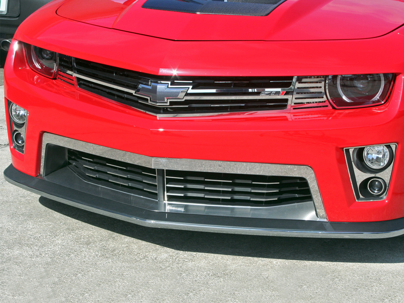 Gen 5 Camaro ZL1 2012-2013 Polished Fog Light Trim Kit - 8pc