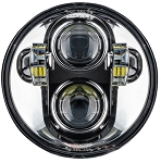 C3 Corvette 1968-1982 Oracle LED Headlamp Replacement - 5.75 Inch/40 W - Black Or Chrome Bezel 4Pc