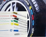 Tire Paint Marker - Multiple Color Options