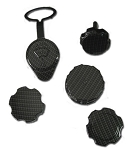 C6 Corvette 2005-2013 Hydro Carbon Fiber Engine Cap Set