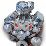 C3 Corvette 1968-1982 Style Track Alternator, A/C & Power Steering Serpentine System - Small Block