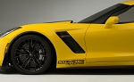 C7 Corvette Stingray/Z06/Grand Sport 2014-2019 Lower Front Fender Decal - Corvette Racing - Pair
