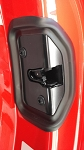 C7 Corvette Stingray / Z06 / Grand Sport 2014-2019 Door Lock Latch Cover With Gasket - Pair