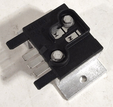 C4 Corvette 1989-1996 Instrument Panel Dimmer Switch