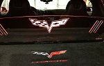 C6 Corvette Coupe 2005-2013 WindRestrictor® Glow Plate
