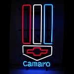 Gen 5 Gen 6 Camaro 2010-2016+ Red, White, and Blue Neon Light Sign