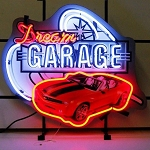 Gen 5 Camaro 2010-2015 Dream Garage Neon Sign
