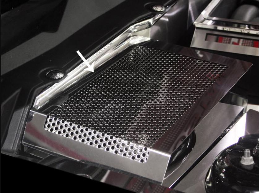 2011 2013 Ford Mustang V8 Gt 5 0 Battery Cover Perforated
