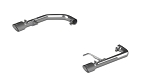 2015+ Ford Mustang GT 5.0L MBRP 2.5in Axle Back Exhaust Kit - Finish Option