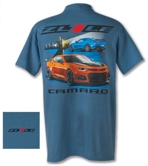 CORVETTE CAMARO ZL1 Logo Racing New T-Shirt S-3XL