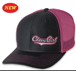 Chevrolet Chevy Girl Mesh Trucker Cap - Pink & Black
