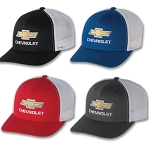 Chevrolet Gold Bowtie Retro Trucker Cap w/ Color Options
