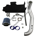 1997-2006 Jeep Wrangler TJ 4.0 Air Intake Pipe Kit w/ Blue or Black Silicone Hoses