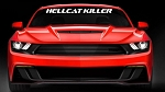 Ford Mustang / Chevrolet Camaro HELLCAT KILLER Script Windshield Decal - Color Options
