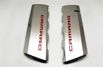 Gen 6 Camaro V8 SS 2016-2018 Polished Fuel Rail Cover Overlay - Camaro Lettering