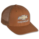 Chevrolet Gold Bowtie Heavy Canvas Cap