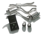 2015+ Ford Mustang 2.3L EcoBoost ARMYTRIX Stainless Steel Valvetronic Catback Exhaust System - Tip Finish Options