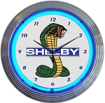 Ford Mustang Shelby Cobra Neon Clock