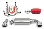1990-1994 Porsche 964 Turbo 965 Sport Performance Package w/ Tips - Polished Chrome