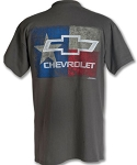 Texas Flag Chevy Bowtie T-Shirt w/ Size Options