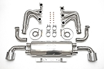 1989-1994 Porsche 964 Carrera RSR Header Muffler Kit without Heat & with Oval Style Tips - Sports Cats Selection