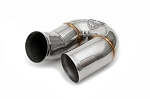1989-1994 Porsche 964 Carrera Secondary Muffler Bypass Pipe (replaces side muffler)