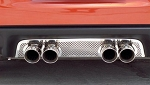 C6 Corvette 2005-2013 Exhaust Filler Panels - All Exhaust Types - Design Option