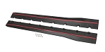 2015+ Ford Mustang Side Rocker Splitters - Pair