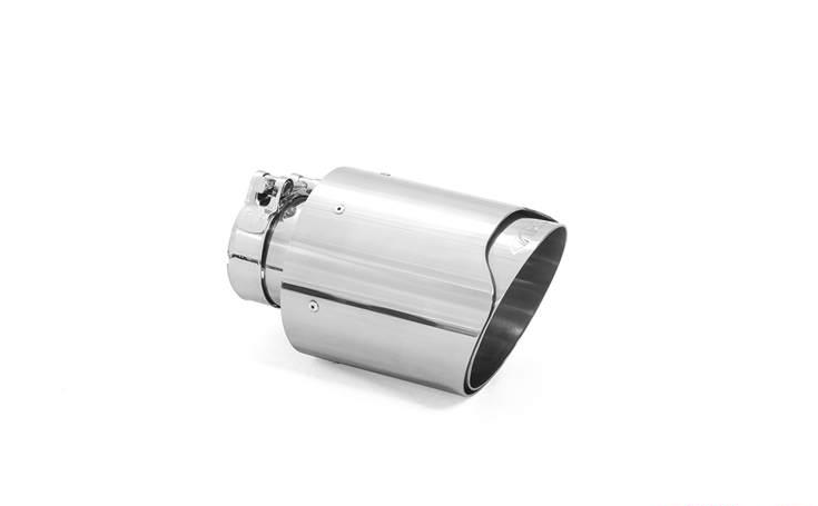 ARK Performance Slip On Single Exhaust Tip - Stainless Steel or Carbon Fiber Options