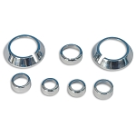 Gen 5 Camaro 2010-2013 Chrome Billet Interior Knob Kit