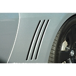 Gen 5 Camaro 2010-2015 Side Vent Inserts - Multiple Finishes Available