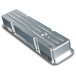 C2 C3 Corvette 1963-1982 Small Block Billet Ball Milled Valve Cover - Multiple Finishes Available
