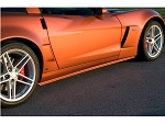 C6 Corvette Z06/Grand Sport 2006-2013 ACI Rocker Panels/Side Skirts