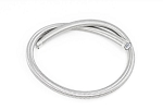 10AN SS Double Braided PTFE Fuel Hose - Silver Finish - Length Options