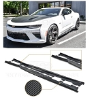 Gen 6 Camaro 2016-2018 ACS T6 Style Side Skirts